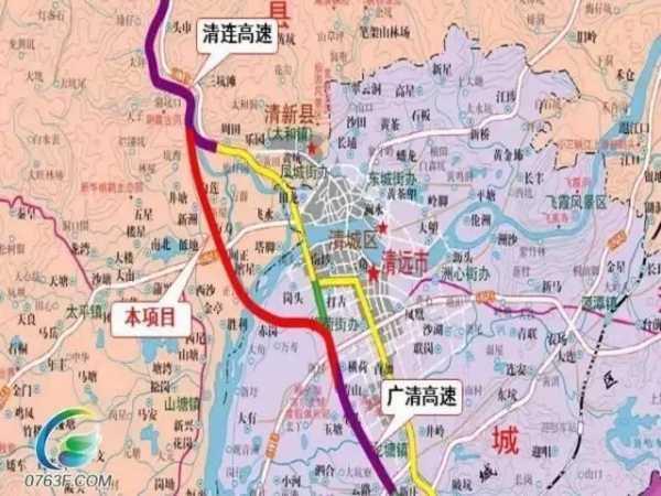 广清高速 清连高速连接线预计推迟半年完工