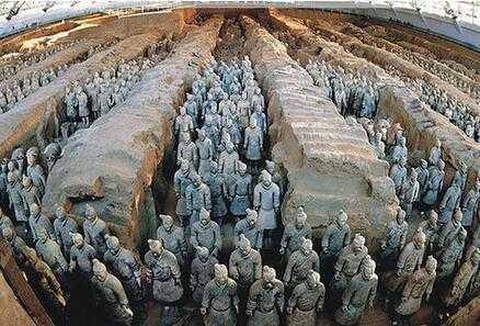 兵馬俑為什么沒有頭 秦始皇陵的兵馬俑為何大多數沒有