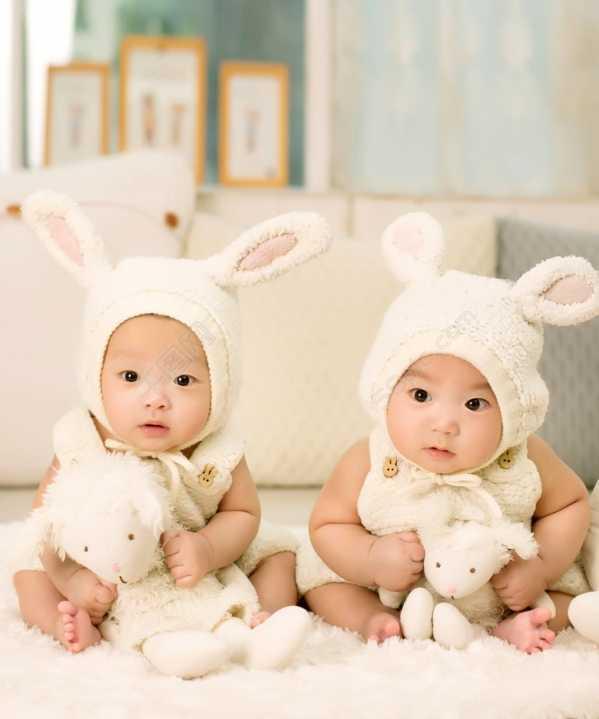 龙凤胎宝宝照片 可爱龙凤胎宝宝图片